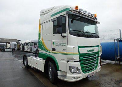 Herspuiten vrachtwagencabine West-Vlaanderen