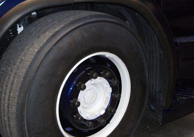 Spuitwerk carrosserie wieldoppen
